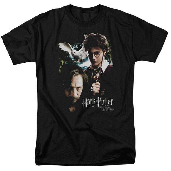 Harry Potter Harry And Sirius Short Sleeve Adult T-Shirt