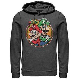 Mario Luigi Circle Pullover Hoodie