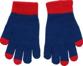 Superman Logo Touch Gloves