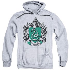 Harry Potter Slytherin Crest Adult Pull Over Hoodie Athletic