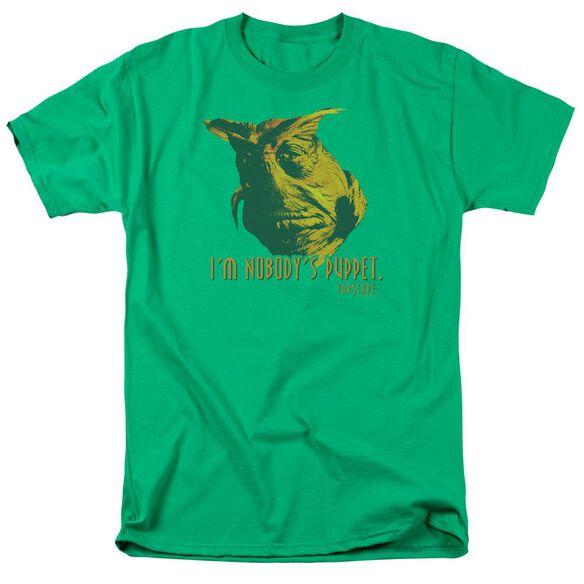 Farscape Nobodys Puppet Short Sleeve Adult Kelly Green T-Shirt