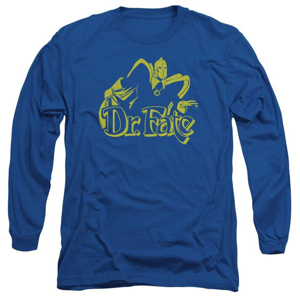 Dco One Color Fate Long Sleeve Adult Royal T-Shirt