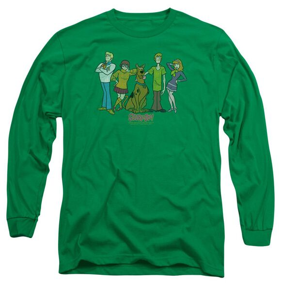 Scooby Doo Scooby Gang Long Sleeve Adult Kelly T-Shirt