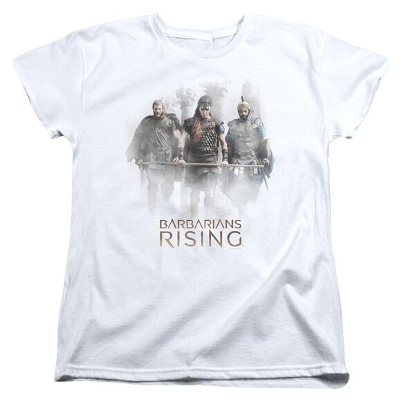 Barbarians Rising Three Barbarians Short Sleeve Womens Tee T-Shirt