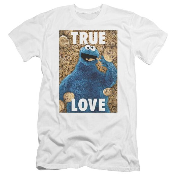 Sesame Street Beautiful Cookies Premuim Canvas Adult Slim Fit