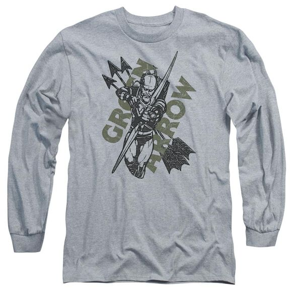 Jla Archers Arrows Long Sleeve Adult Athletic T-Shirt