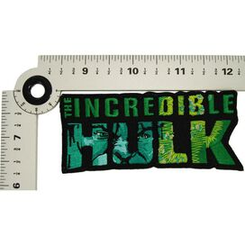 Incredible Hulk Name Face Patch