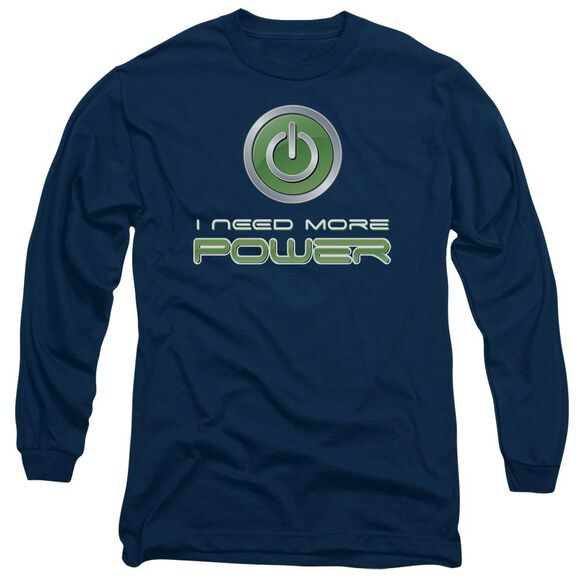 More Power Long Sleeve Adult T-Shirt