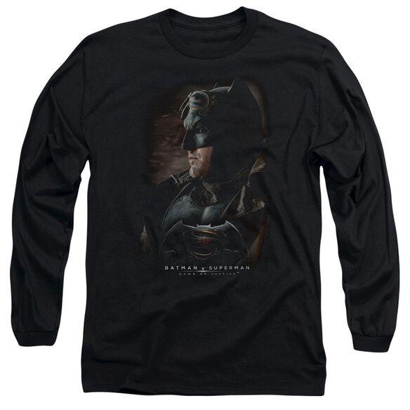 Batman V Superman Desert Gear Long Sleeve Adult T-Shirt