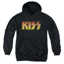Kiss Classic-youth Pull-over Hoodie - Black