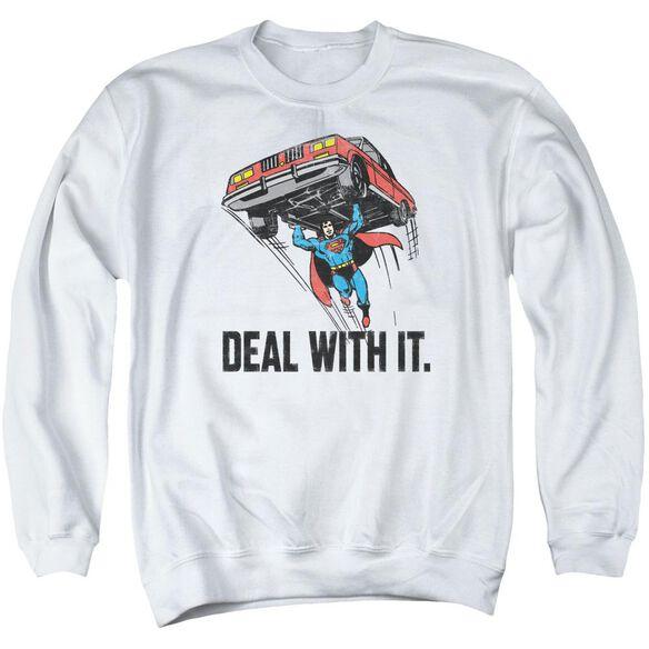 Dco Deal With It Adult Crewneck Sweatshirt