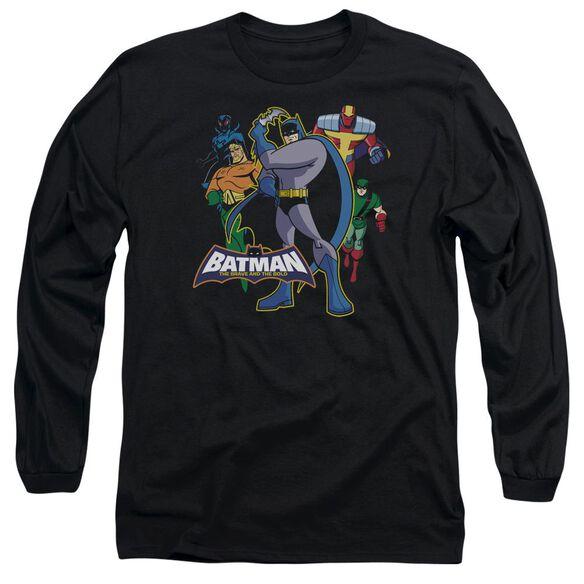 Batman Bb Waiting Long Sleeve Adult T-Shirt