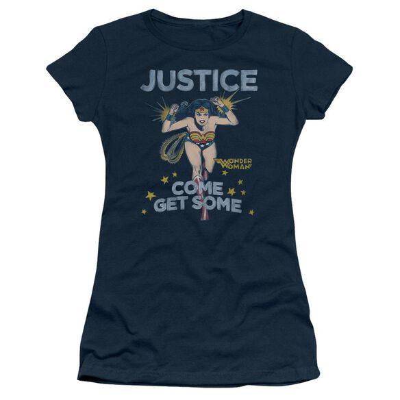 Dc Get Some Short Sleeve Junior Sheer T-Shirt