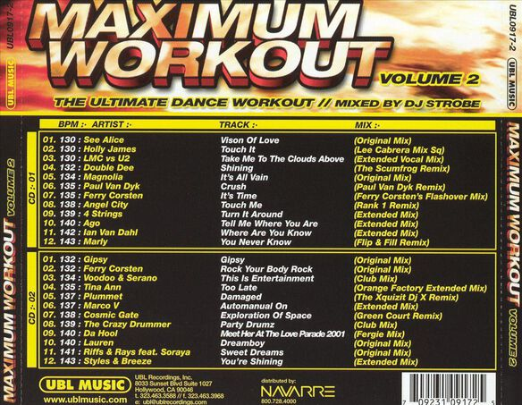 Maximum Workout Vol.2 105