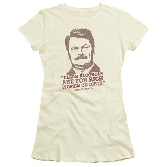 Parks And Rec Rich Women Short Sleeve Junior Sheer T-Shirt