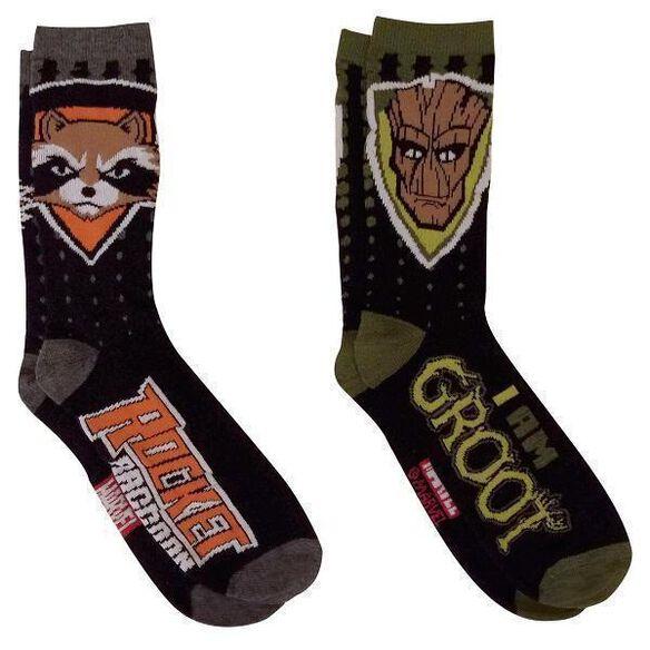 Guardians of the Galaxy: Rocket & Groot Socks [2 pack]