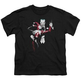 BATMAN HARLEY AND JOKER - S/S YOUTH 18/1 - BLACK T-Shirt