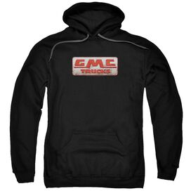 Gmc Beat Up 1959 Logo Adult Pull Over Hoodie Black