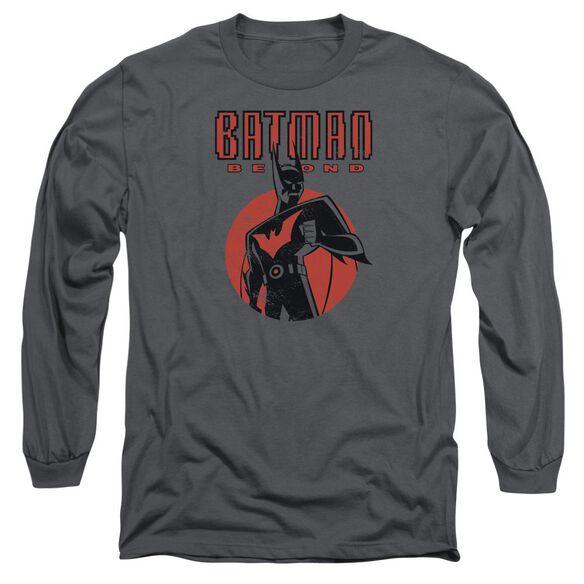 Batman Beyond Iconic Pose Long Sleeve Adult T-Shirt