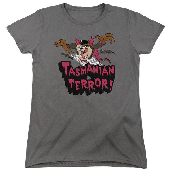 Looney Tunes Taz Terror Short Sleeve Womens Tee T-Shirt