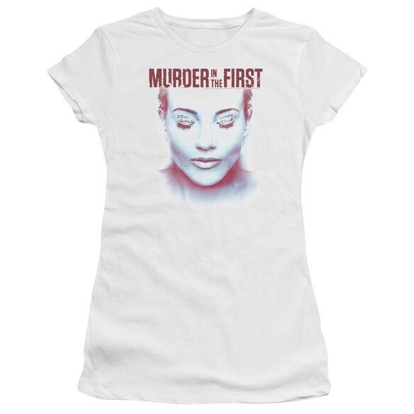 Murder In The First Don't Talk Premium Bella Junior Sheer Jersey