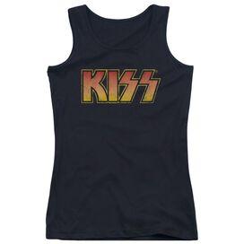 Kiss Classic - Juniors Tank Top - Black