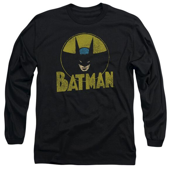 Dc Circle Bat Long Sleeve Adult T-Shirt