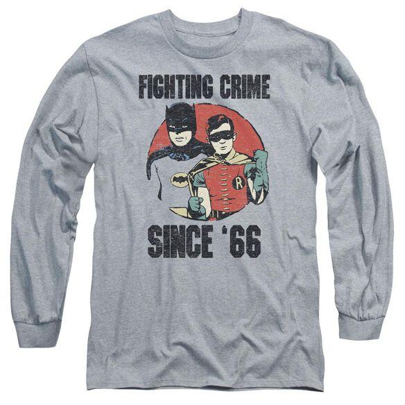 Batman Classic Tv Since 66 Long Sleeve Adult Athletic T-Shirt