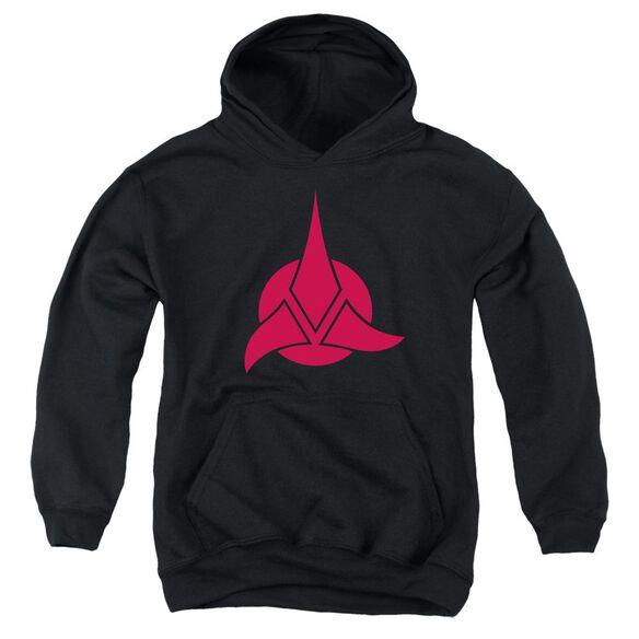 Star Trek Klingon Logo Youth Pull Over Hoodie