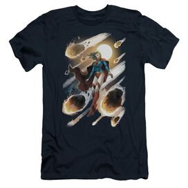 JLA SUPERGIRL #1 - S/S ADULT 30/1 - NAVY T-Shirt
