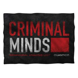 Criminal Minds Logo Pillow Case White