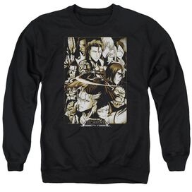 Bleach Slice Adult Crewneck Sweatshirt