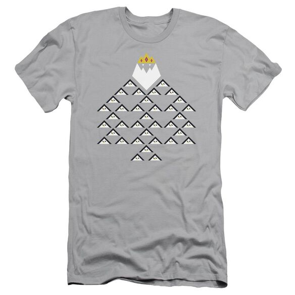 Adventure Time Ice King Triangle Short Sleeve Adult T-Shirt
