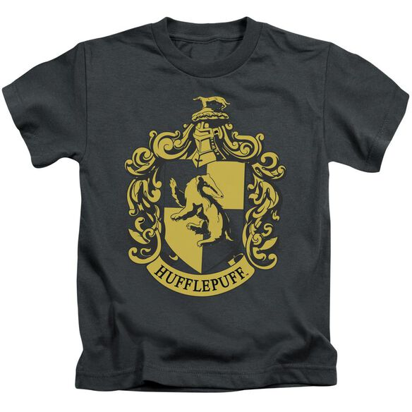 Harry Potter Hufflepuff Crest Short Sleeve Juvenile T-Shirt