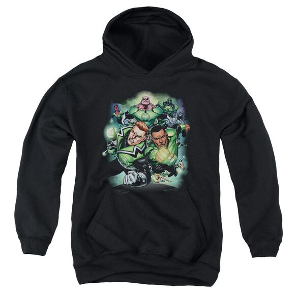 Green Lantern Corps #1 Youth Pull Over Hoodie