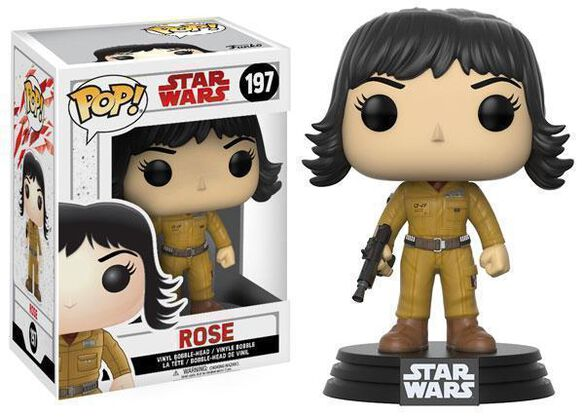 Funko Pop! Star Wars: EP8 - Rose