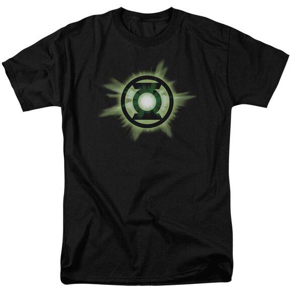 Green Lantern Green Glow Short Sleeve Adult T-Shirt