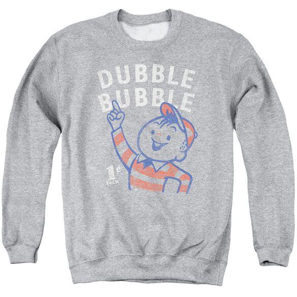 Dubble Bubble Pointing Adult Crewneck Sweatshirt Athletic