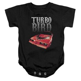 Pontiac Turbo Bird Infant Snapsuit Black