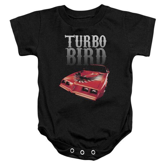 Pontiac Turbo Bird Infant Snapsuit Black