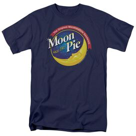 Moon Pie Current Logo Short Sleeve Adult T-Shirt