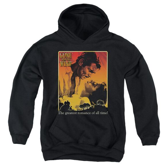 Gone With The Wind Greatest Romance Youth Pull Over Hoodie