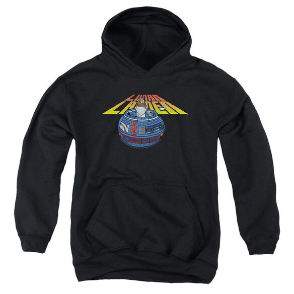 Atari Lunar Globe Youth Pull Over Hoodie