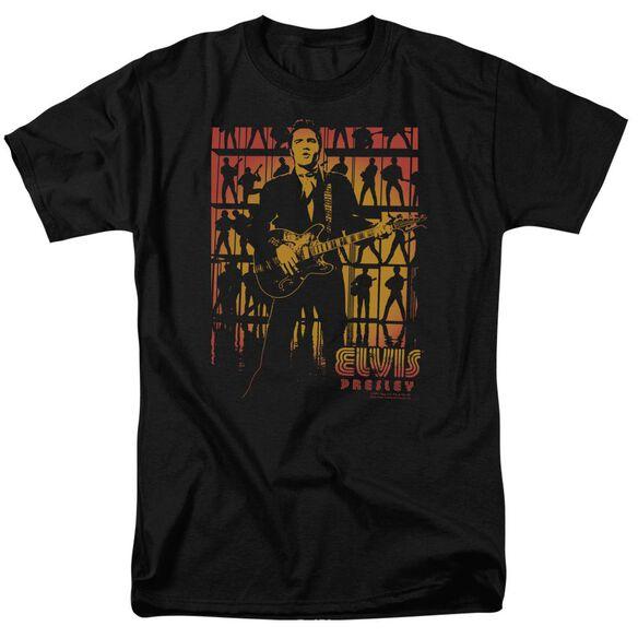 Elvis Comeback Spotlight Short Sleeve Adult T-Shirt