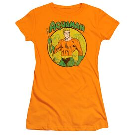 Dc Aquaman Short Sleeve Junior Sheer T-Shirt