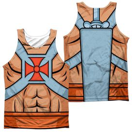 Masters Of The Universe He Man Costumes (Front Back Print) Adult 100% Poly Tank Top