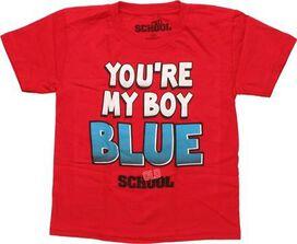 Old School My Boy Blue Juvenile T-Shirt