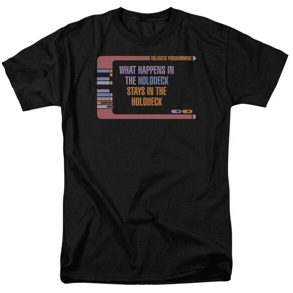 Star Trek Holodeck Secrets Short Sleeve Adult T-Shirt