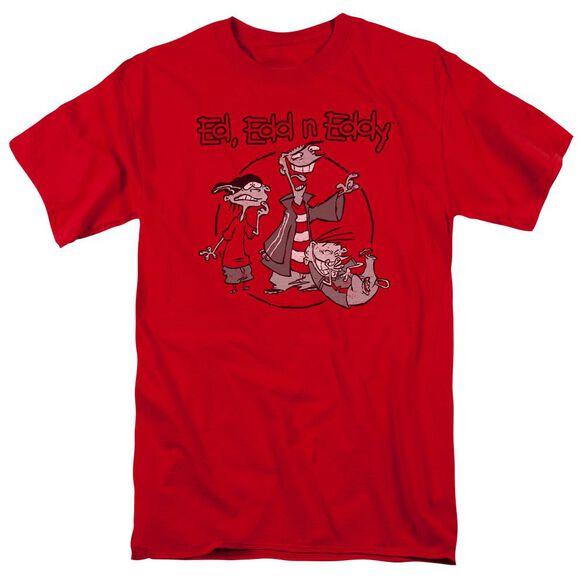 Ed Edd N Eddy Gang Short Sleeve Adult T-Shirt
