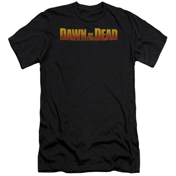 Dawn Of The Dead Dawn Logo Premuim Canvas Adult Slim Fit